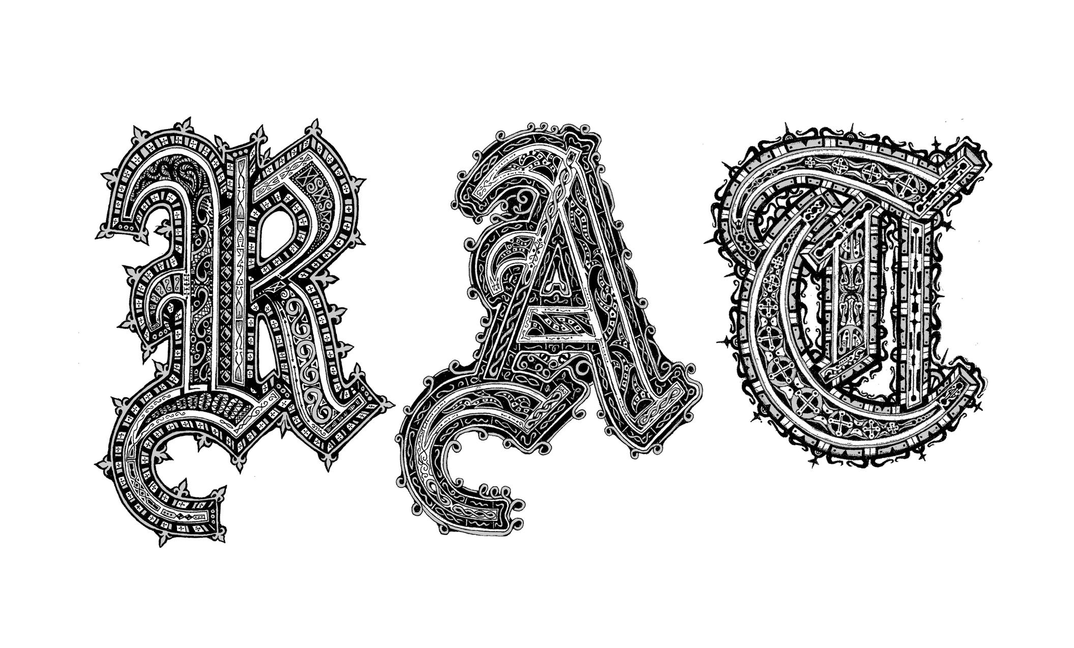 Illuminated Letterforms