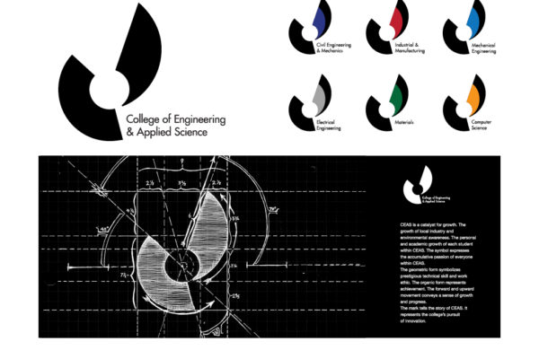 Logo design for the College of Engineering and Applied Science